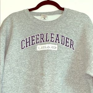 Sweaters - USA cheerleader sweater